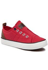 Xti - Tenisówki XTI - 57446 Rojo. Kolor: czerwony. Materiał: skóra ekologiczna, materiał, skóra