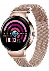 Złoty zegarek Roneberg smartwatch