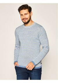 Sweter klasyczny Trussardi Jeans w kolorowe wzory