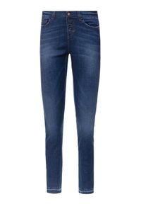 iBlues Jeansy Skinny Fit Violet 71810601 Granatowy Skinny Fit. Kolor: niebieski. Materiał: jeans #3