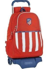Atletico Torba szkolna z kółkami 905 Atltico Madrid 20/21 Niebieski Biały Czerwony. Kolor: niebieski, biały, wielokolorowy, czerwony