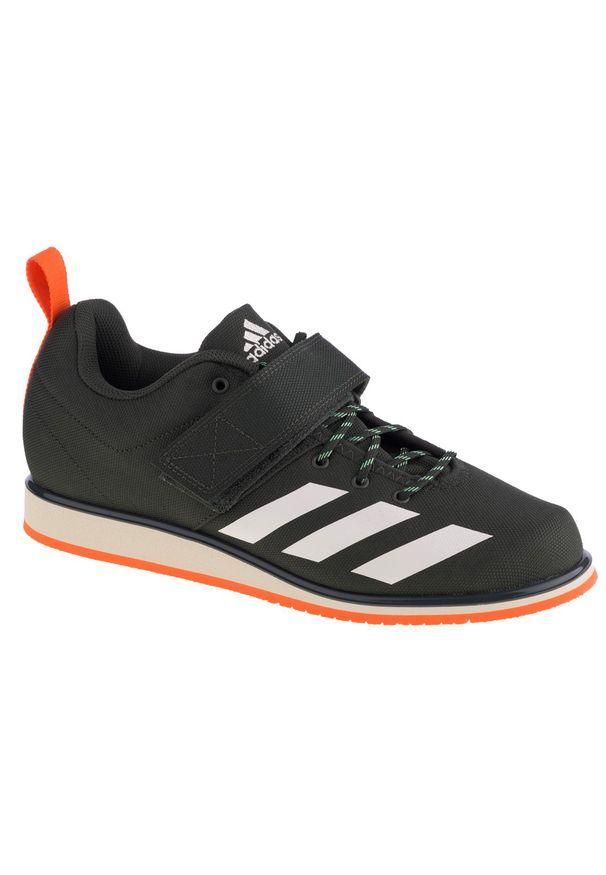 Szare buty treningowe Adidas z cholewką, w kolorowe wzory