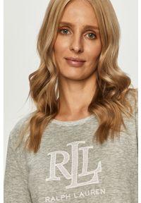 Szara piżama Lauren Ralph Lauren długa