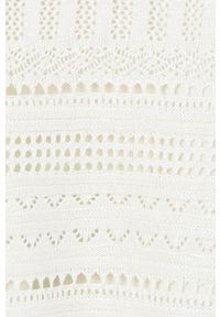 Kremowy sweter Mayoral gładki, raglanowy rękaw
