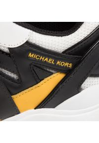 Czarne buty sportowe Michael Kors z cholewką, na co dzień