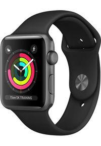 APPLE - Smartwatch Apple Watch Series 3 Czarny (MTF32MP/A). Rodzaj zegarka: smartwatch. Kolor: czarny
