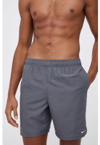 Nike - Szorty kąpielowe. Kolor: szary