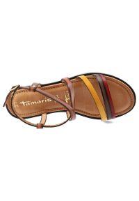 Tamaris - Sandały TAMARIS 1-28128-24 392 Cognac Comb