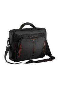 TARGUS - Targus Classic+ Clamshell Case 18'' czarno-czerwona. Kolor: wielokolorowy, czerwony, czarny. Materiał: neopren