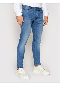 Karl Lagerfeld - KARL LAGERFELD Jeansy 5-Pocket 265801 511833 Niebieski Slim Fit. Kolor: niebieski