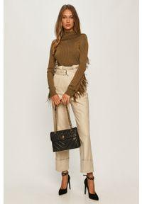Szare spodnie materiałowe Sportmax Code #4