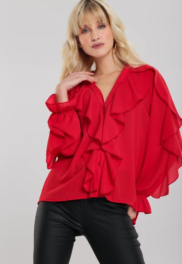 Czerwona koszula Renee