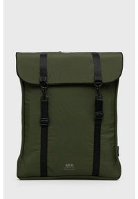 Lefrik - Plecak. Kolor: zielony. Materiał: neopren, poliester