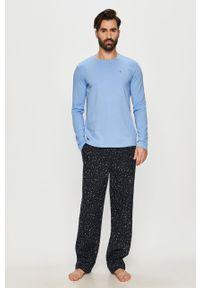 Niebieska piżama TOMMY HILFIGER długa