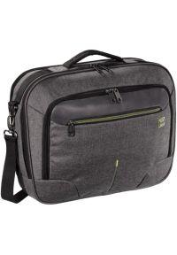 Szara torba na laptopa hama w kolorowe wzory