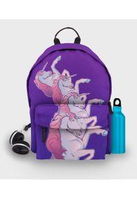MegaKoszulki - Plecak fullprint Unicorns. Materiał: materiał. Wzór: nadruk