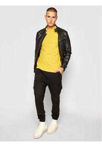 Kappa T-Shirt Hanno 308011 Żółty Regular Fit. Kolor: żółty #4