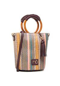 Brązowa torebka klasyczna Nobo