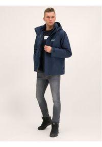 Niebieska kurtka turystyczna Jack Wolfskin