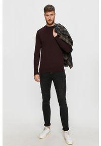 Brązowy sweter Brave Soul na co dzień, casualowy