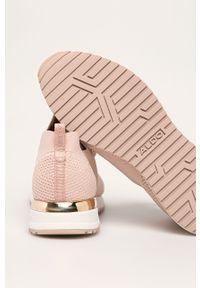 Różowe buty sportowe Aldo na sznurówki, z cholewką