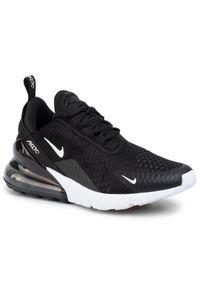 Czarne buty sportowe Nike z cholewką, Nike Air Max, na co dzień