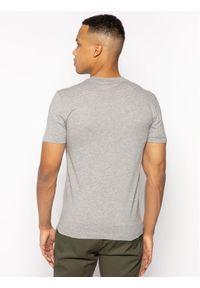 Calvin Klein T-Shirt Logo Embroidery K10K104061 Szary Regular Fit. Kolor: szary