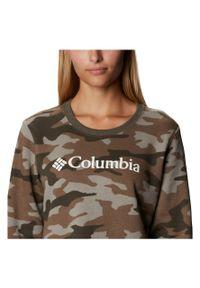 columbia - Bluza damska Columbia Printed Crew 1939411. Materiał: bawełna, materiał, poliester