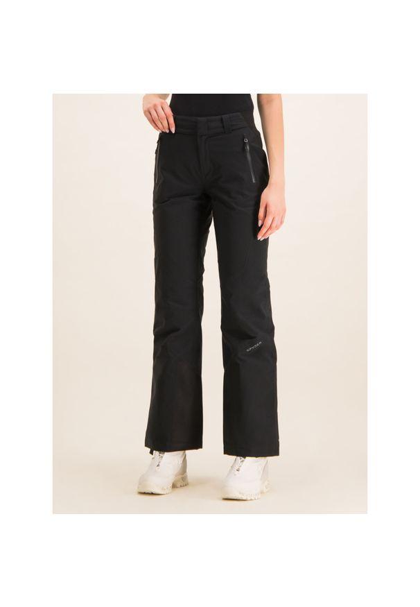 Czarne spodnie narciarskie Spyder