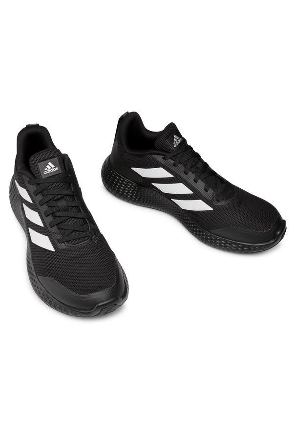 Czarne buty do biegania Adidas