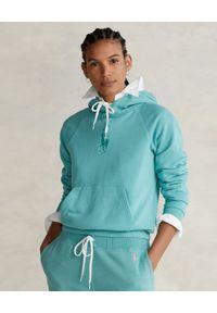 Ralph Lauren - RALPH LAUREN - Bluza z kapturem Relaxed fit. Typ kołnierza: kaptur. Kolor: zielony. Długość rękawa: długi rękaw. Długość: długie