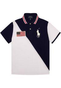 Biały t-shirt polo Polo Ralph Lauren polo