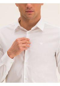 Biała koszula biznesowa Emporio Armani