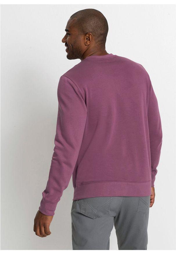 Szara bluza bonprix z nadrukiem