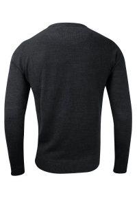 Szary sweter Brave Soul do pracy, biznesowy