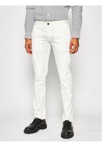 Białe spodnie Emporio Armani