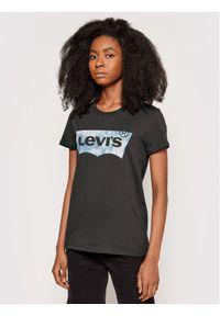 Levi's® T-Shirt The Perfect 17369-1638 Szary Regular Fit. Kolor: szary