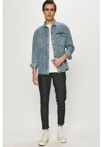 Bomboogie - Spodnie. Kolor: niebieski