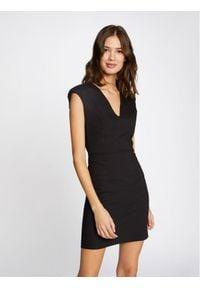 Morgan Sukienka codzienna 211-RAFFY.F Czarny Slim Fit. Okazja: na co dzień. Kolor: czarny. Typ sukienki: proste. Styl: casual