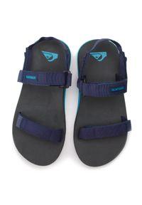 Niebieskie sandały Quiksilver na lato, klasyczne