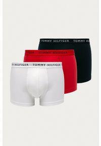 TOMMY HILFIGER - Tommy Hilfiger - Bokserki (3-pack). Kolor: niebieski. Materiał: bawełna