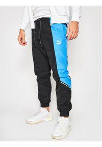 Niebieskie spodnie dresowe Puma