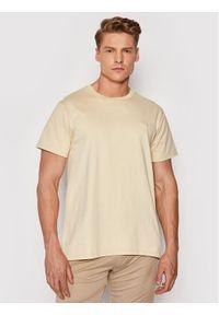 Guess T-Shirt M1GI48 K8FQ1 Żółty Regular Fit. Kolor: żółty