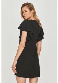 Czarna sukienka Silvian Heach casualowa, na co dzień, prosta