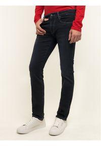 Guess Jeansy Skinny Fit Angel M01AN2 D3YI1 Granatowy Skinny Fit. Kolor: niebieski. Materiał: jeans