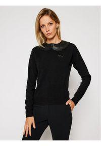 Czarny sweter klasyczny Pinko #6