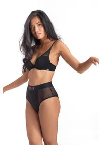 Dorina - Brazyliany Radiate. Kolor: czarny. Materiał: bawełna, materiał