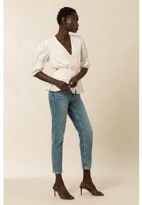 IVY & OAK - Bluzka BETTY. Okazja: na co dzień. Kolor: biały. Długość: krótkie. Styl: casual
