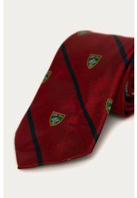 Czerwony krawat Polo Ralph Lauren