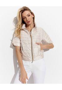 Biała kurtka na lato